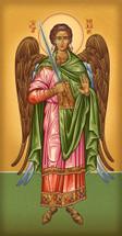 Icon of the Archangel Michael - 20th c. Athonite - (1MI26)