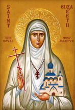 Icon of St. Elizabeth the New Martyr - 20th c. - (1EL27)