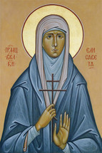 Icon of St. Elizabeth the New Martyr - Russian - (1EL29)