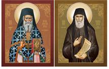 Icon Set: Sts. Porphyrios & Paisios - (MMG08)