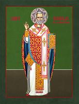 Icon of St. Nicholas the Wonderworker - (1NI18)