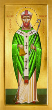 Icon of St. Kessog of Lennox - (1KE11)
