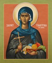 Icon of St. Tabitha of Joppa - 20th c. - (1TA20)