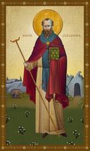 Icon of St. Columba - 20th c. - (1CA20)