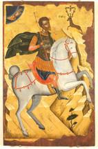 Icon of St. Eustathios - 17thc. - (1EU31)