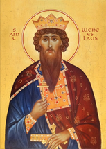 Icon of St. Wenceslaus the Martyr   - (1WE10)