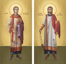 Icon Set: Sts. Stephen & Romanos - (MMG20)