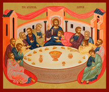 Icon of the Mystical Supper - (11G07)