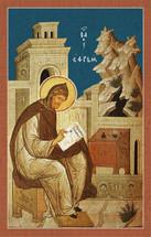 Icon of St. Ephraim the Syrian (sitting) - (1EP14)