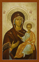 Icon of the Theotokos - 20th c.  - (12G78)