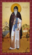 Icon of St. Oliver of Ancona - 20th c. - (1OL10)