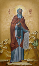 Icon of St. Dorotheos of Gaza - 20th c. - (1DO10)