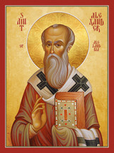 Icon of St. Alexander of Alexandria - 20th c. - (1AL25)