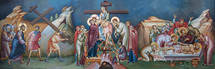 Icon of the The Divine Passion of Christ - 20th c. - (11P02)