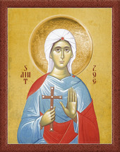 Icon of St. Zoe - 20th c. - (1Z010)