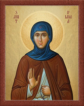 Icon of St. Piama of Egypt - (1PI10)
