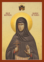 Icon of St. Maria of Paris - 20th c. - (1MA55)