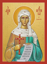 Icon of St. Anthia the Martyr - (1AN90)