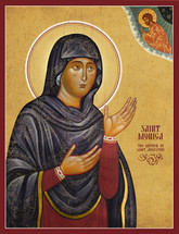 Icon of St. Monica of Hippo - (1MO10)