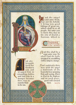 Nativity Illuminated Manuscript - (POS16)
