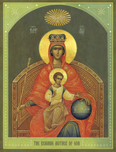 Icon of the Reigning Mother of God - English - (12G87)