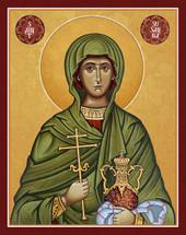 Icon of St. Susanna the Myrrh-Bearer - 20th c. - (1SU11)
