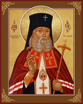 Icon of St. Luke The Surgeon Of Simferopol - Russian - (1LU37)