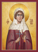 Icon of St. Valentina of Caesaria - (1VA15)