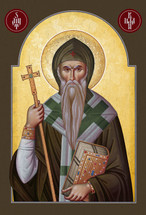 Icon of St. Killian of Bavaria - (1KI10)