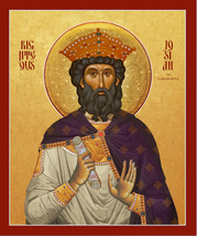 Icon of Righteous Josiah the Tenderhearted - (1JO40)
