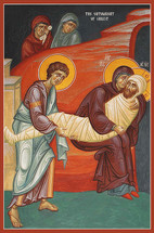 Icon of the Entombment of our Lord - (11J23)