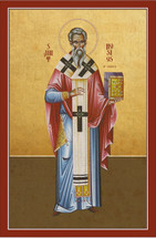 Icon of St. Hosios of Cordova - 20th c. - (1HO10)