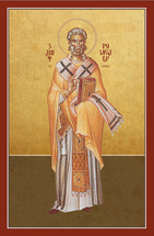Icon of St. Polycarp of Smyrna - (1PC10)