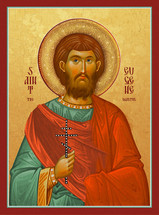 Icon of St. Eugene the Martyr - 20th c. - (1EU75)