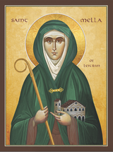 Icon of St. Mella of Leitrim - (1MA35)