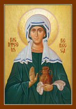Icon of St. Rebecca the Righteous  - (1RA25)