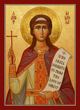 Icon of St. Liliosa of Cordova - (1LI10)