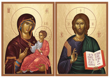 Icon Set: Christ the Resurrection & Life - (MCT20)
