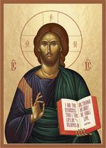Icon of Christ the Resurrection & Life - (11J01)