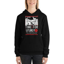 Time for Liturgy – Women's Pull Over Hoodie