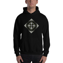 St. Patrick's Lorica - (Double-Sided) Men's Pullover Hoodie