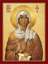 Icon of Righteous Ruth - (1RU10)
