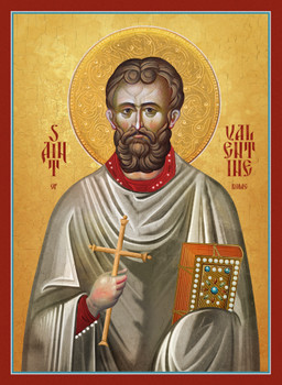Saint Valentine the presbyter and martyr of Rome.