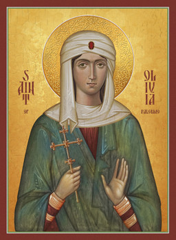 Icon of St. Olivia of Palermo