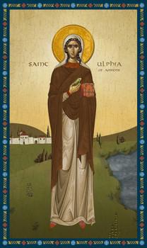 Icon of St. Ulphia of Amiens