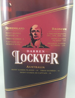 SOLD! BUNDABERG RUM DARREN LOCKYER #33992 700ML