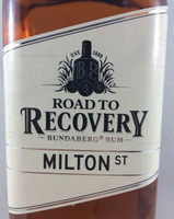 SOLD! BUNDABERG RUM ROAD TO RECOVERY MILTON ST 700ML