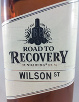 SOLD! BUNDABERG RUM ROAD TO RECOVERY WILSON ST 700ML
