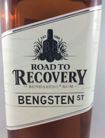 SOLD! BUNDABERG RUM ROAD TO RECOVERY BENGSTEN ST 700ML