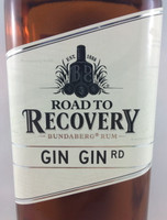 SOLD! BUNDABERG RUM ROAD TO RECOVERY GIN GIN RD 700ML